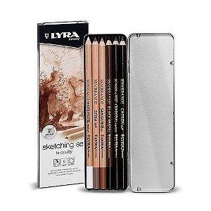 Lápis LYRA Rembrandt Set Profissional para Scketching