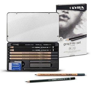 Estojo Lápis LYRA Rembrandt GraphiteAquarell 10 Peças