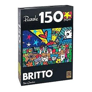 Quebra Cabeça GROW Romero Britto 150 Peças