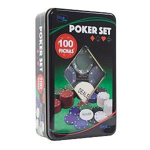 Poker Set c/100 Fichas