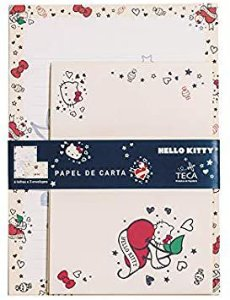 Papel de Carta Hello Kitty Tatto - TECA