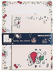 Papel de Carta Hello Kitty Tatto - TECA