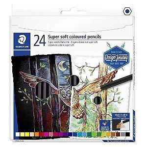 Lápis de Cor STAEDTLER Soft 24 Cores