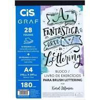 Bloco CIS de Lettering A4 28F