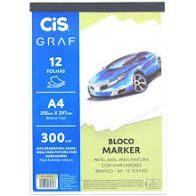Bloco CIS Marker A4 300g