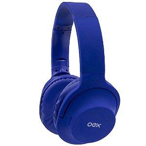 Fone Headset Flow Bluetooth Azul OEX