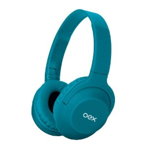 Fone Headset Flow Bluetooth Turquesa OEX