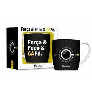 Caneca Urban - Foco, Força e Café BRASFOOT