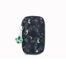 Estojo KIPLING 50 Pens Estampado Jungle Monkeys
