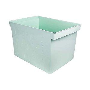 Caixa Multiuso Larga Verde Pastel DELLO