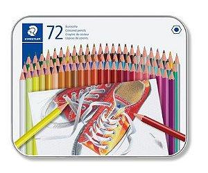 Lápis de Cor STAEDTLER Hexagonal 72 CORES