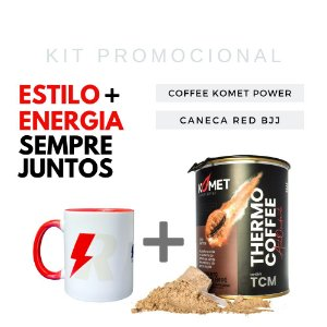 KIT PROMOCIONAL caneca jiu jitsu + coffee