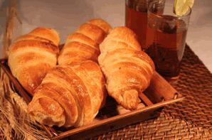 Croissant Frango c/Requeijão 120 g - CONGELADO pct c/20