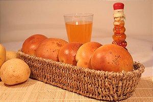Pão de Batata Calabresa 120 g - CONGELADO pct c/20