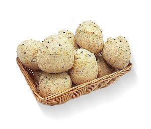 Pão de Queijo Multigrãos 15 gramas - CONGELADO pct c 3,9 kg