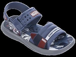 Sandálias Marvel Cinza/azul