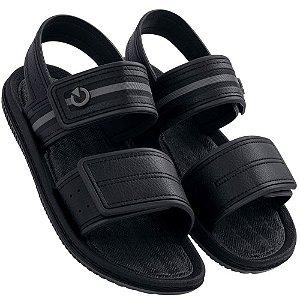 Sandálias Cartago Cinza/preto