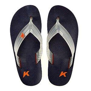 Chinelos Kenner 13-laranja/azul Mrm
