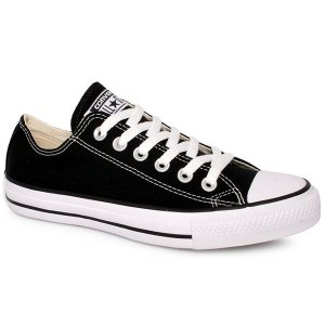 TÊNIS CONVERSE ALL STAR CT00010002 PRETO/CRU/PRETO