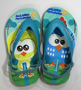 Sandálias Ipanema Galinha Pintadin/26102 Verde/azul