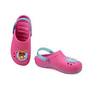 Sandálias Lol Playfun/21891 Rosa/azul