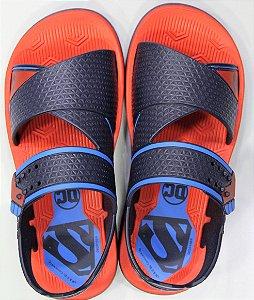 Sandálias Liga Da Justica Escudo Lancador/22017 Vermelho/azul