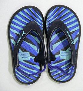 Chinelos Rider R1 Baby/11184 Marinho/azul