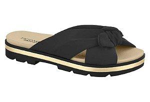 Sandália Modare 7132100 Preto/dourado