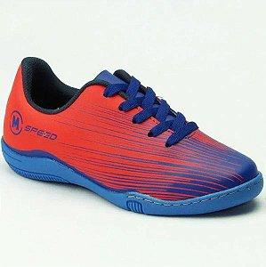Chuteira Molekinho 2808114 - Azul/coral
