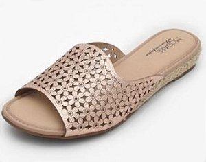 Sandália Modare Ouro Rosado
