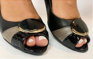 Sapatos Piccadilly  Preto