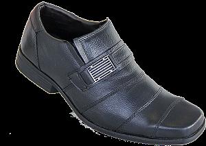Sapato Couro Parthenon Ygm121 Preto