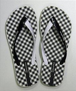 Sandálias Ipanema Branco/preto