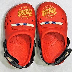 Sandálias Disney Pto/vermelho