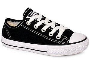 Tênis Converse All Star Ck05050002 Preto/preto/branco