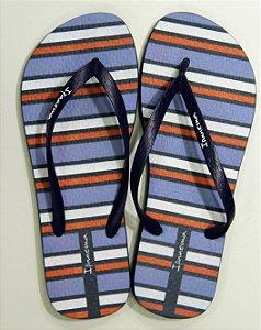 Chinelos Ipanema Temas V/25868 Azul/azul/branco