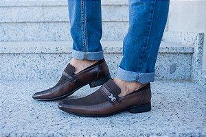 Sapato Social Sapateria - Dark/brown