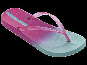 Chinelos Ipanema Azul/rosa