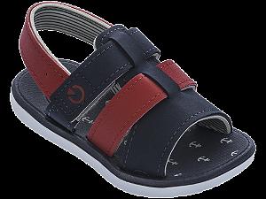 Sandálias Cartago Branco/azul/vermelho