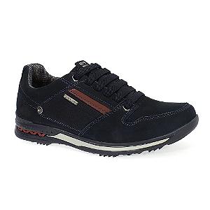 Sapatos Pegada Marinho/carmenere