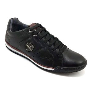 Sapatos Pegada Preto/carmenere