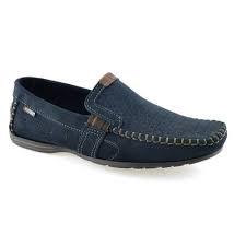 Sapatos Pegada Marinho/anilina