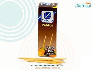 Palito De Madeira De Uso Alimentar 2500 Palitos