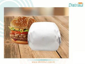 Papel Acoplado Resistente a gordura para frios, lanches com estampa