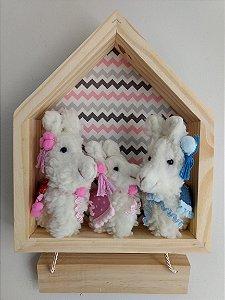 Porta Maternidade Família Lhama