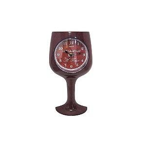Relógio de Parede Taça de Vinho