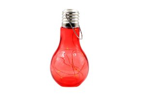 Lâmpada Decorativa LED Vermelha