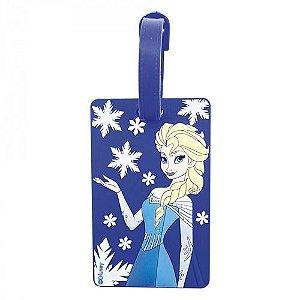 Tag para Mala Frozen Elsa Princesas - Disney