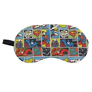 Máscara de Dormir Liga da Justiça - DC Comics