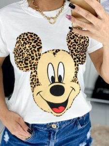 T-Shirt M. Mouse Animal Print